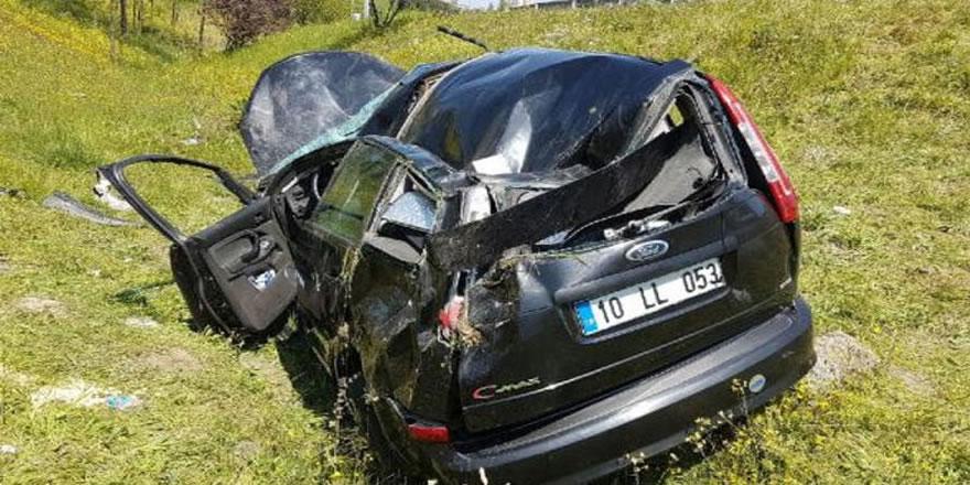 İstanbul'da feci kaza: 2'si ağır 3 yaralı