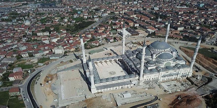 TOKİ iştiraki Emlak Konut, Çamlıca Camii'ne beş yılda 60 milyon lira bağış yapmış