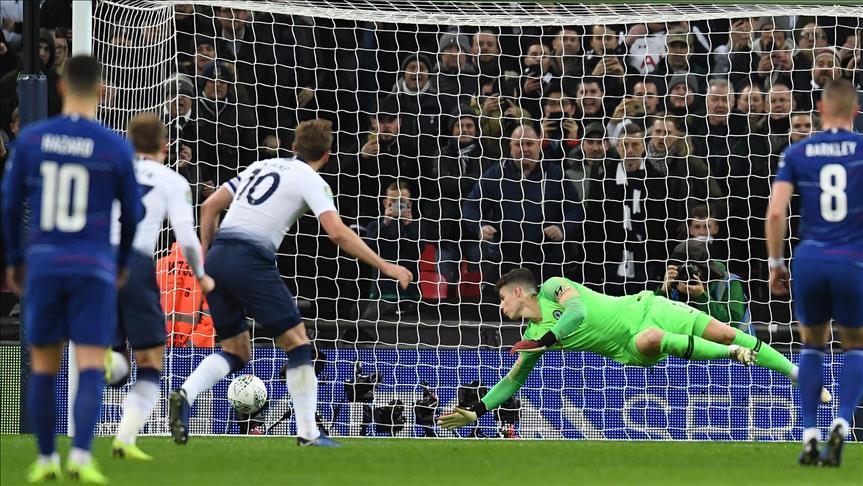 Kupada avantaj Tottenham'da