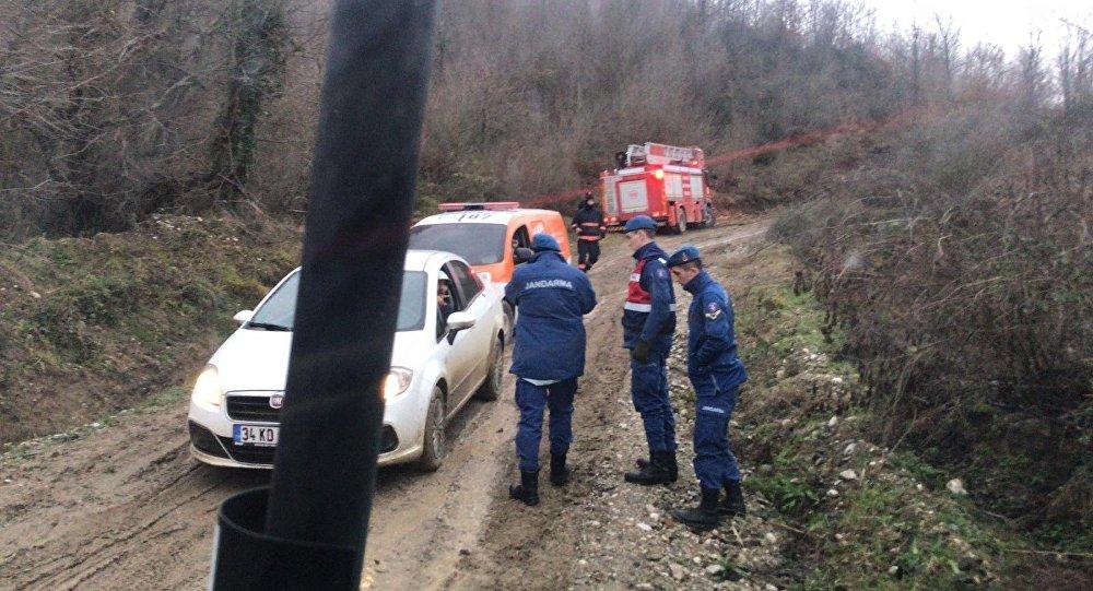 Sakarya'da patlama: Doğalgaz hattı koptu