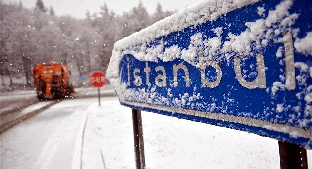 İstanbul için kar yağışı uyarısı