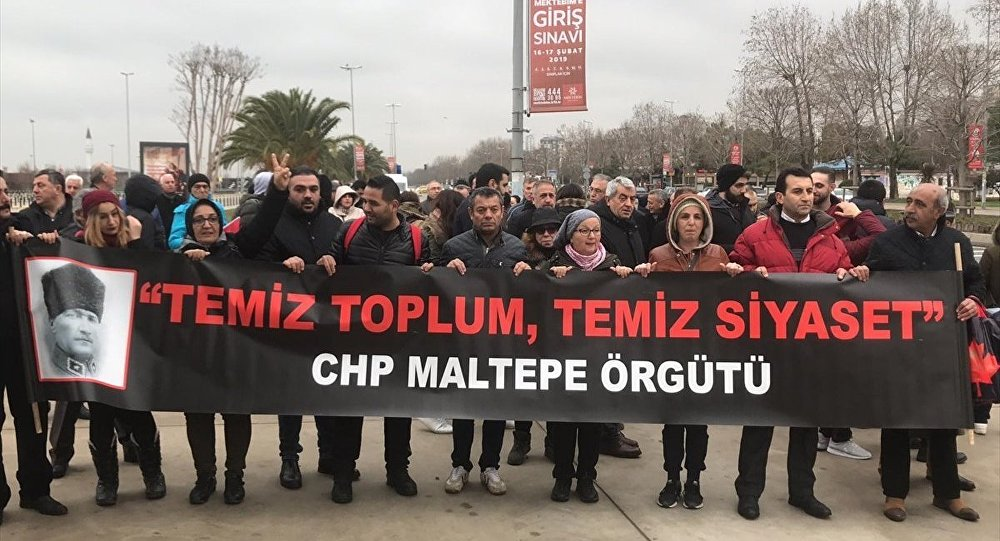 Bir grup CHP'li Ankara'ya yürüyüş başlattı: 'Temiz toplum, temiz siyaset'