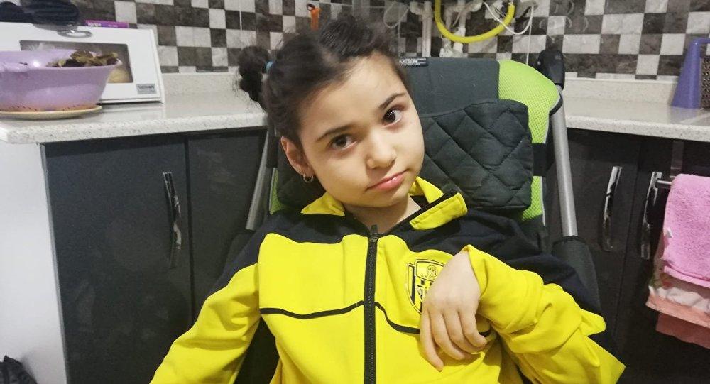 40 günlükken misafirin öptüğü Ecrin ağır engelli oldu