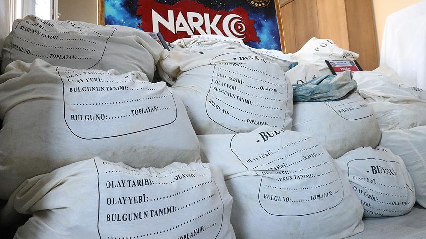 Yılbaşından bugüne kadar 5 ton eroin ele geçirildi
