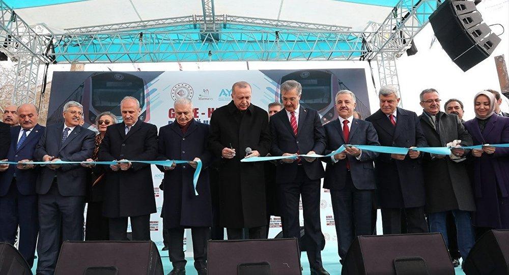 """""""Gebze-Halkalı hattı Londra'dan Pekin'e uzanacak Demir İpek Yolu'nun İstanbul etabı"""""""