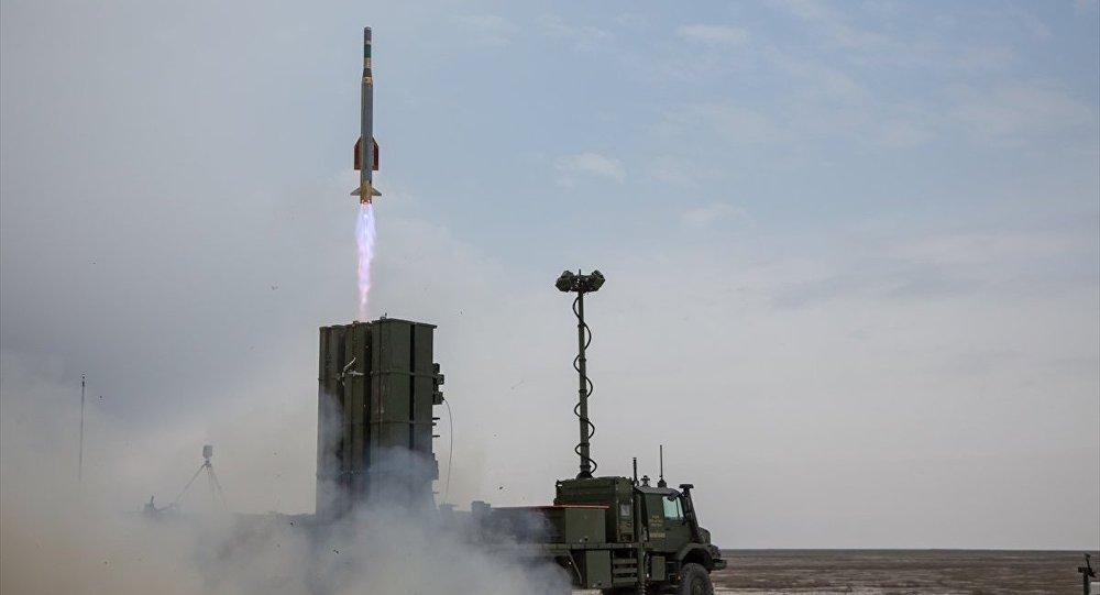 Türkiye'nin ilk yerli hava savunma sistemi Hisar-A'nın test atışı başarıyla gerçekleştirildi