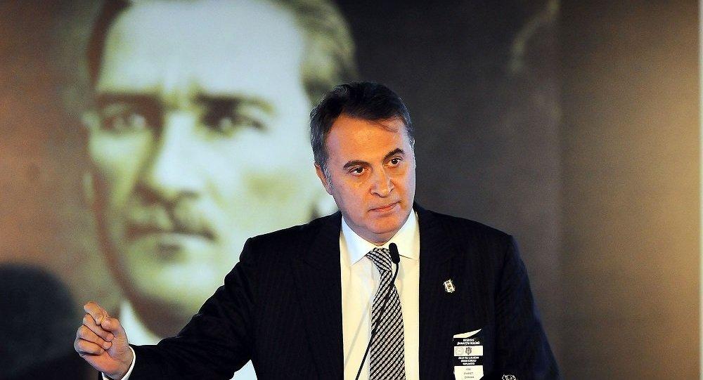 Beşiktaş Başkanı Orman'dan teknik direktör açıklaması