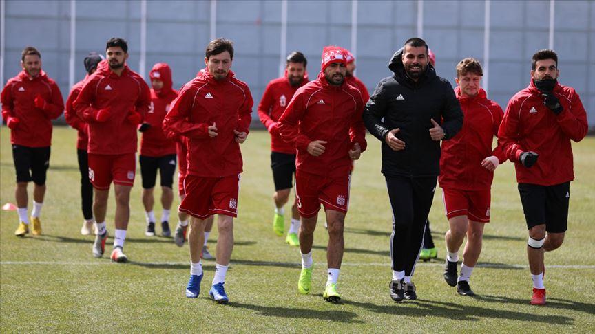 Sivasspor Kayserispor maçı hazırlıklarını sürdürdü