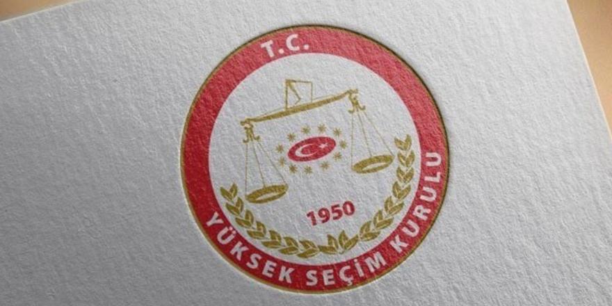 YSK: Taslak seçim takvimi partilere gönderildi