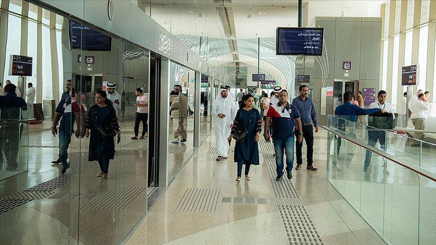 Doha metrosu ilk seferini yaptı