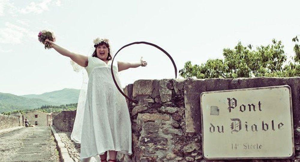 Fransa'da 'Şeytanın Köprüsü'yle' evlenen kadın: O yakışıklı, güçlü ve dayanıklı