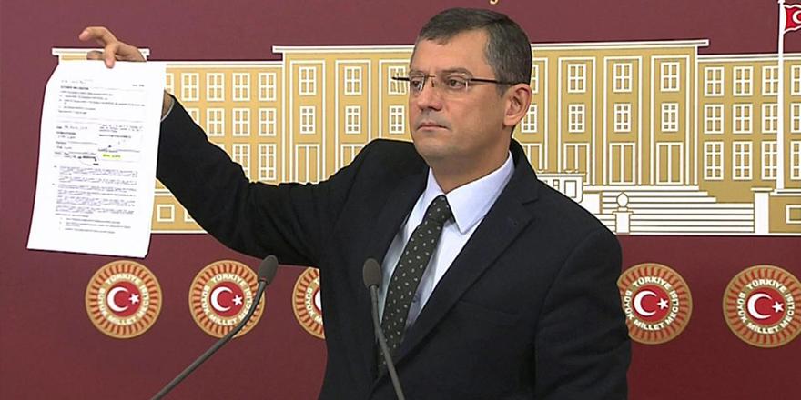 CHP'li Özel, Başbakan Yıldırım'ın belgelerini paylaştı