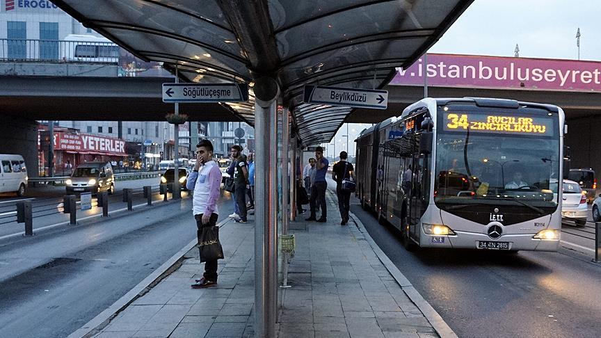 İBB: FSM'deki çalışma nedeniyle 300 ek metrobüs seferi konuldu