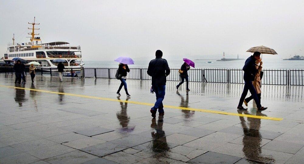 İstanbul yağışlı havanın etkisine girecek