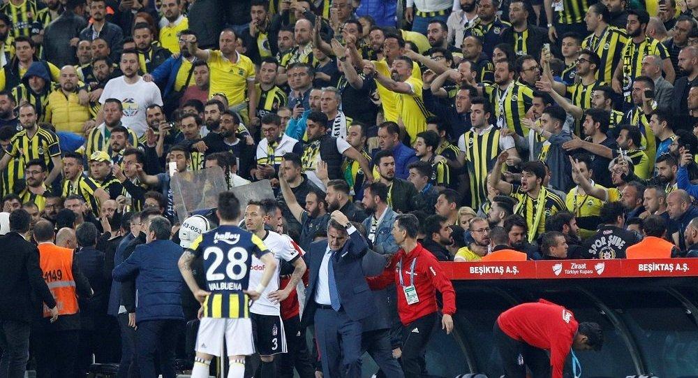 İşte olaylı Fenerbahçe-Beşiktaş maçı için TFF'nin kararı