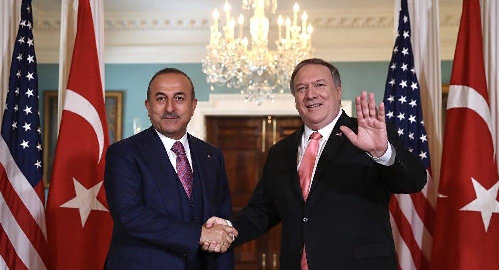 Çavuşoğlu, Pompeo ile görüştü: Gündem F-35, S-400 ve Suriye