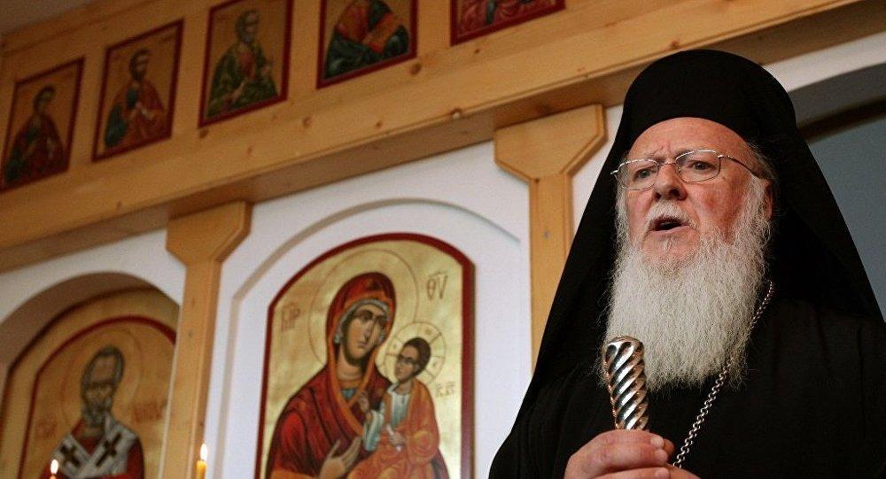 Fener Rum Patriği Bartholomeos'dan MHP'li başkana ziyaret