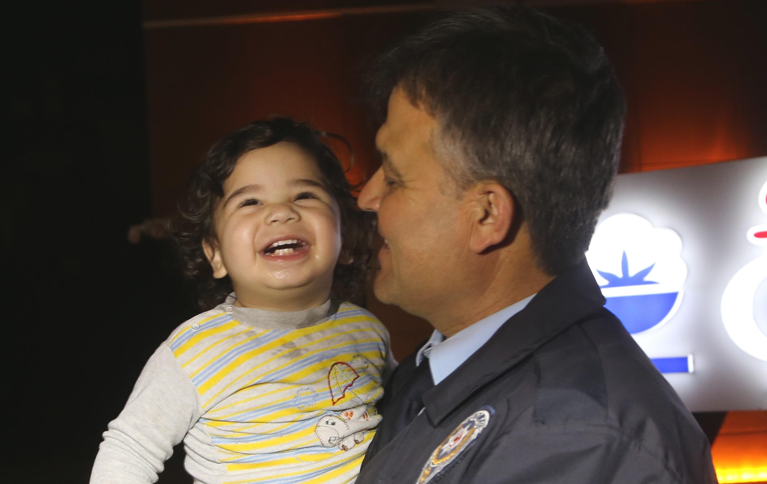Bebek firarda! Yürekleri ağza getirdi ama onun keyfi yerindeydi.