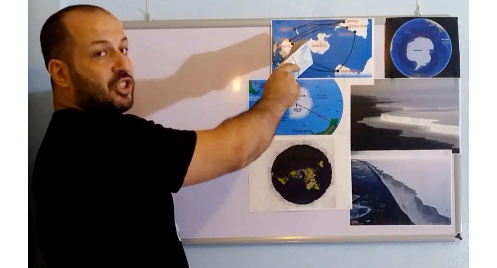 Düz Dünya Derneği Başkanı Antarktika kıtasının fotoğrafını çekene 100 bin TL verecek
