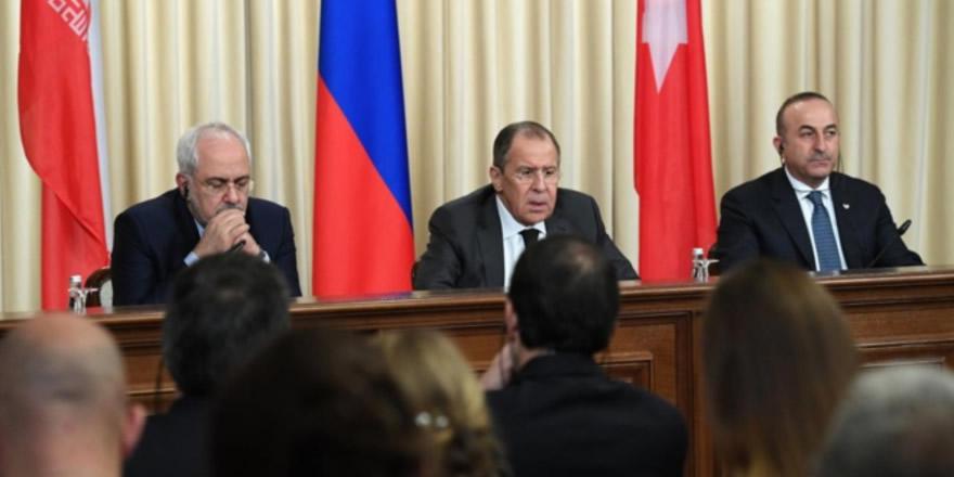 Türkiye, Rusya ve İran dışişleri bakanları bir araya geliyor