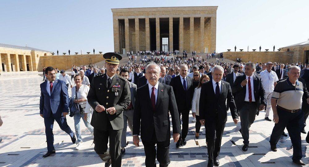 Kılıçdaroğlu, partisinin 96. kuruluş yıl dönümü dolayısıyla Anıtkabir'de