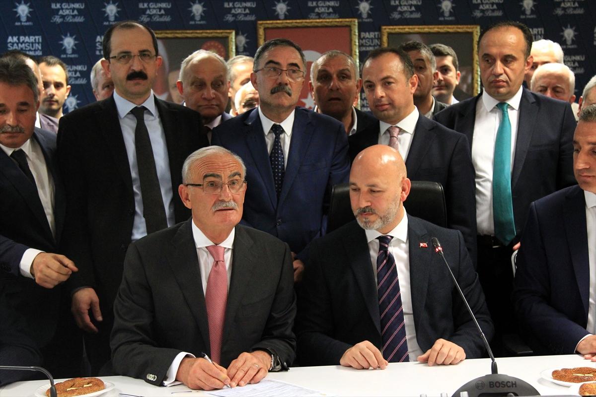 Samsun Büyükşehir Belediye Başkanı Yılmaz görevinden istifa etti