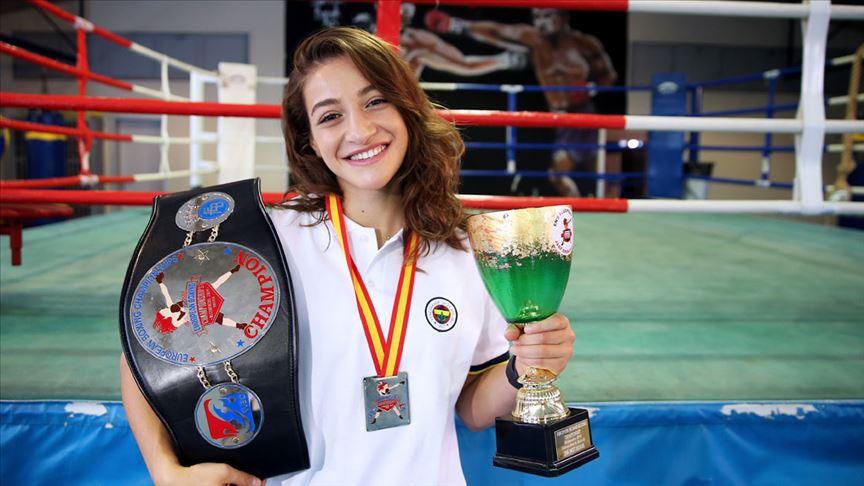 'Avrupa şampiyonluğu, olimpiyat madalyası için basamak'