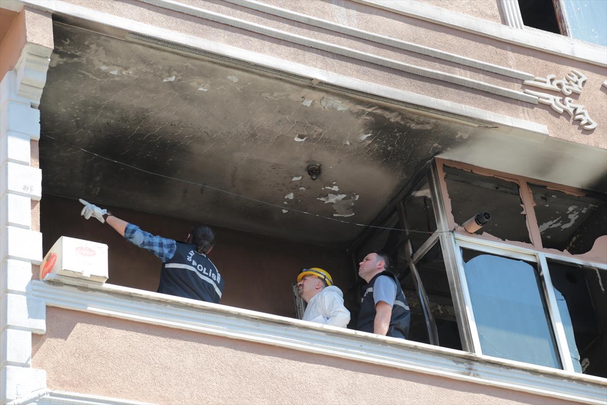 Ataşehirde yangın:1ölü,3 yaralı