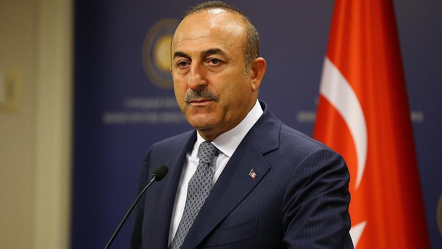 Çavuşoğlu: Barış Pınarı Harekatı uluslararası hukuk kararları gereğince icra ediliyor