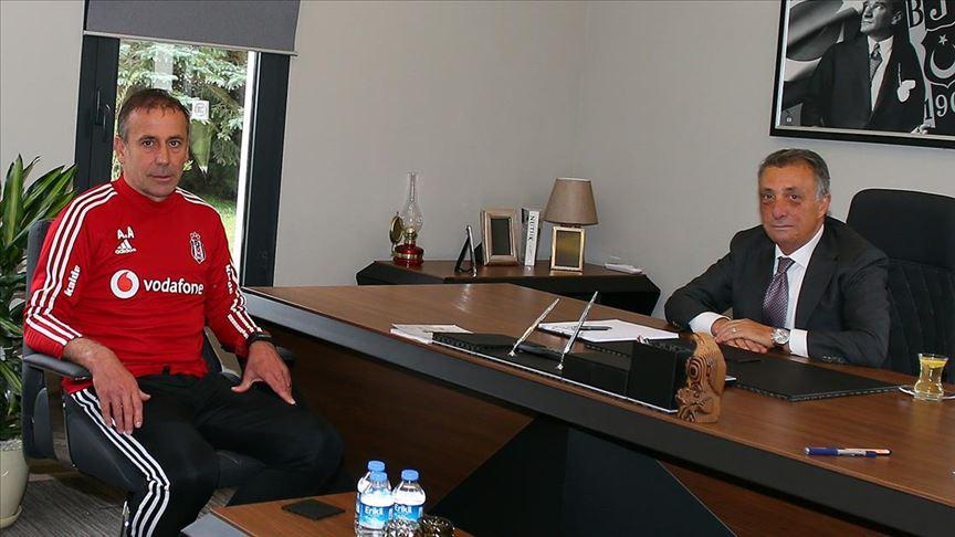 Ahmet Nur Çebi, Abdullah Avcı'yla bir araya geldi