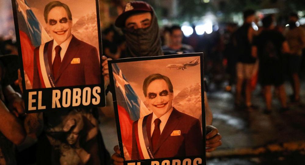 Şili Devlet Başkanı Pinera istifa etmeyeceğini açıkladı