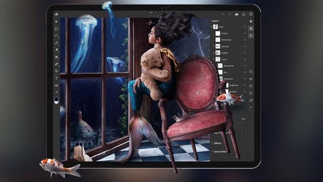 Photoshop tam sürüm iPad'e geldi