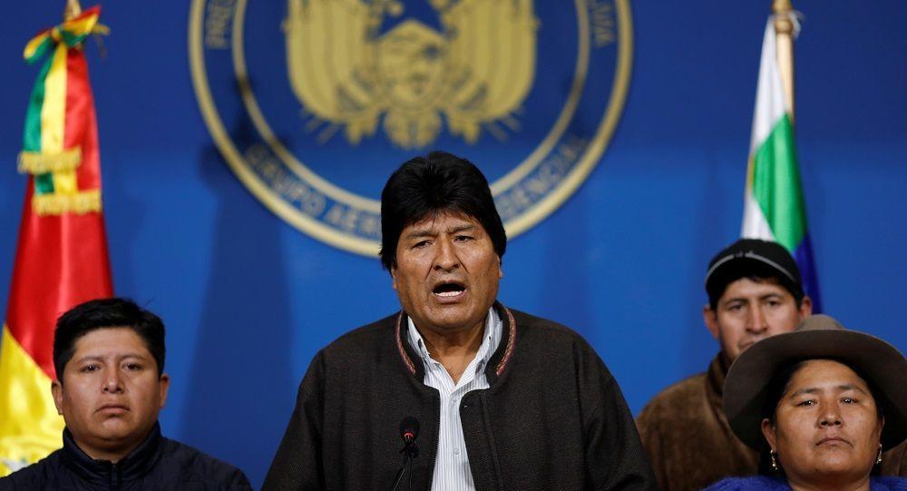 Bolivya Devlet Başkanı Morales istifasını açıkladı
