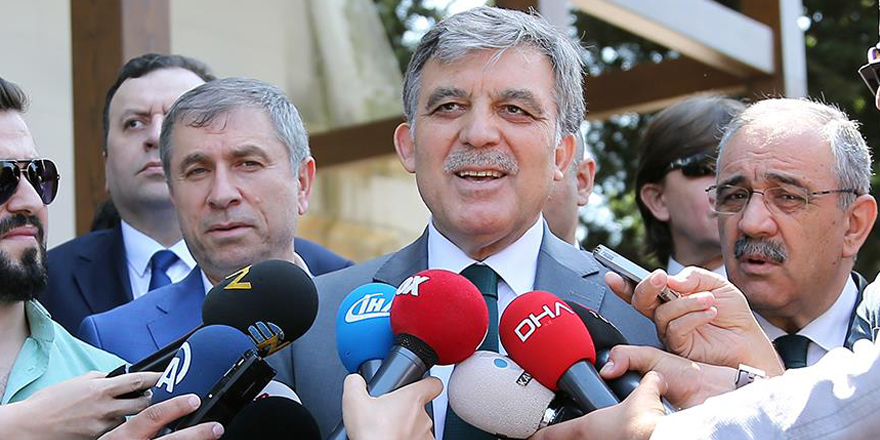 Abdullah Gül'den adaylık açıklaması