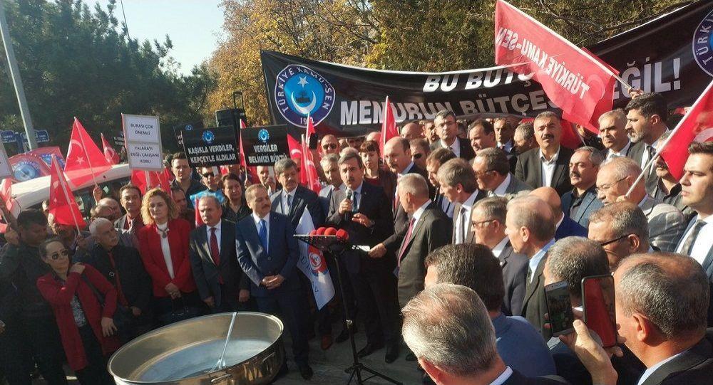 Kamu-Sen Başkanı Kahveci: 2020 bütçesi memurun idam fermanıdır