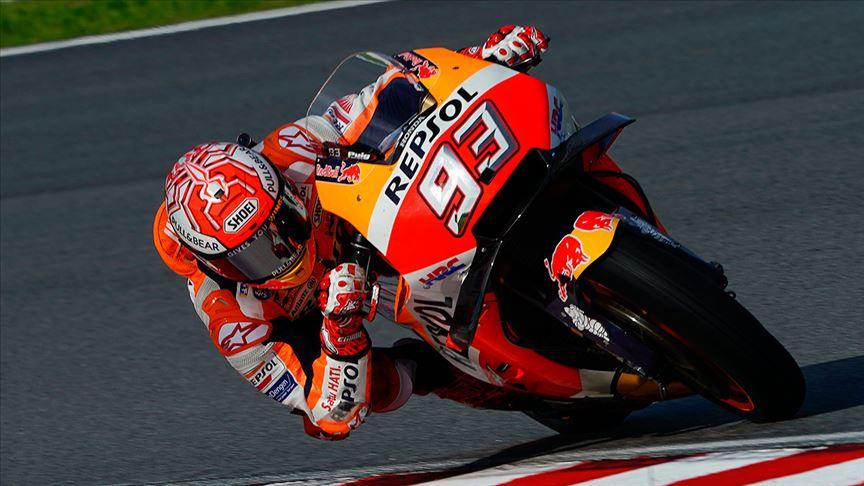 MotoGP'de İspanya etabının galibi Marquez