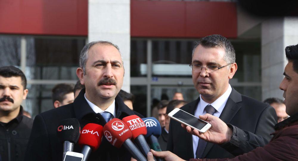 Adalet Bakanı Gül: O eve yazılan yazı, hepimizin evine yazılan yazıdır