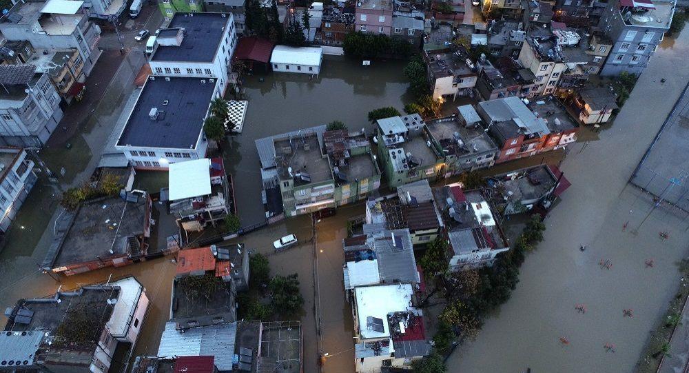 Adana'da son yılların en yüksek yağış miktarı: Metrekareye 250 kilogram