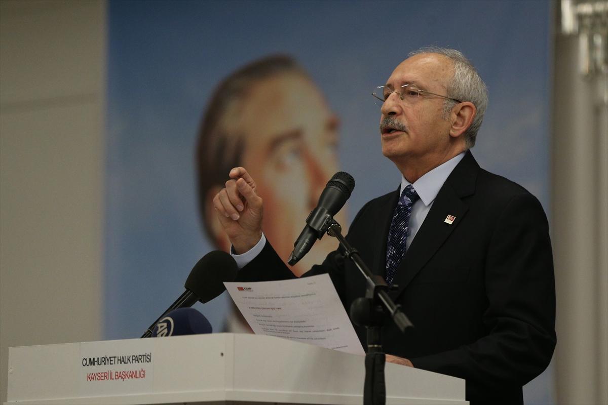 Kılıçdaroğlu: 15 vekile 'kumpası bozun' dedik