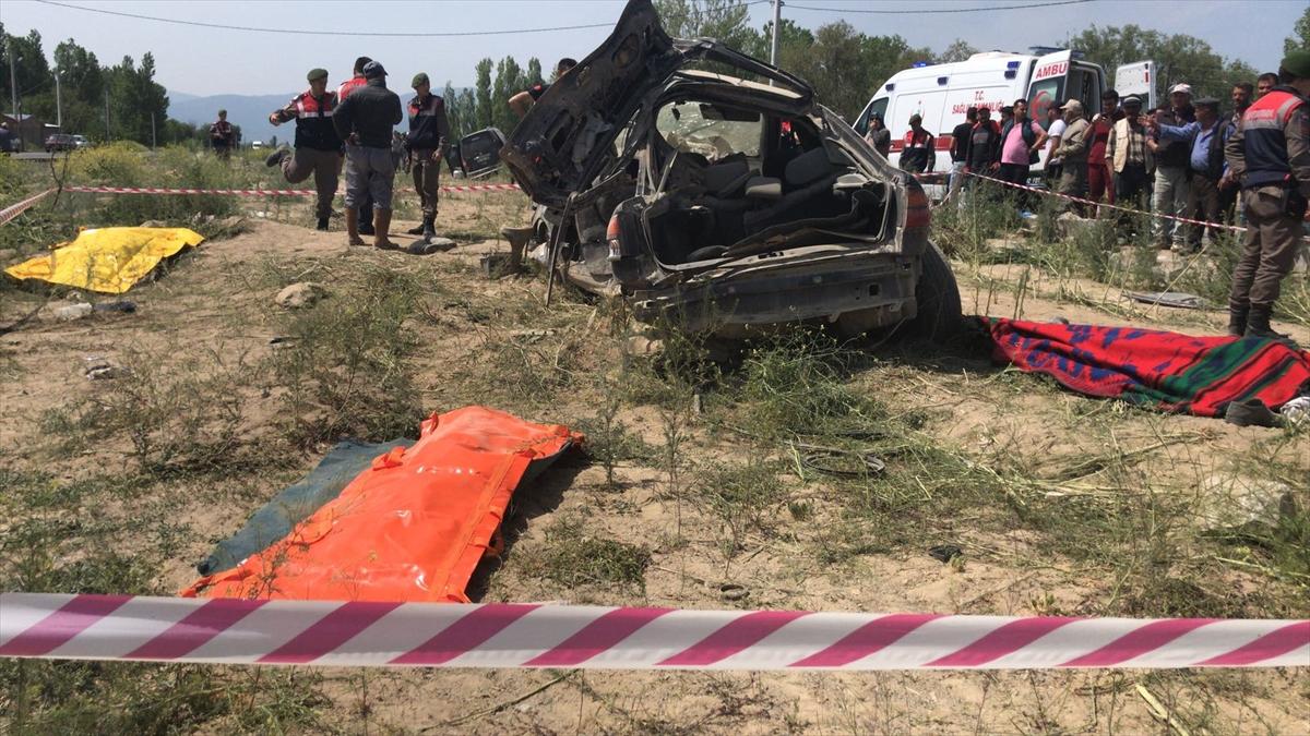 Konya'da trafik kazası: 4 ölü, 2 yaralı