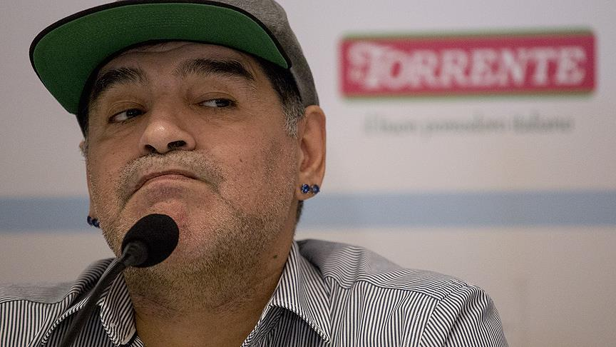 Maradona yine tutunamadı