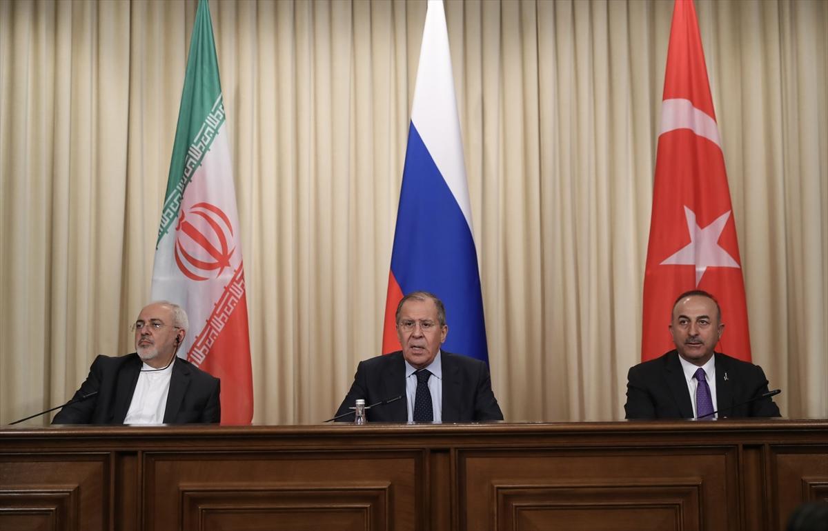 Rusya, Türkiye ve İran'dan ortak Suriye deklarasyonu