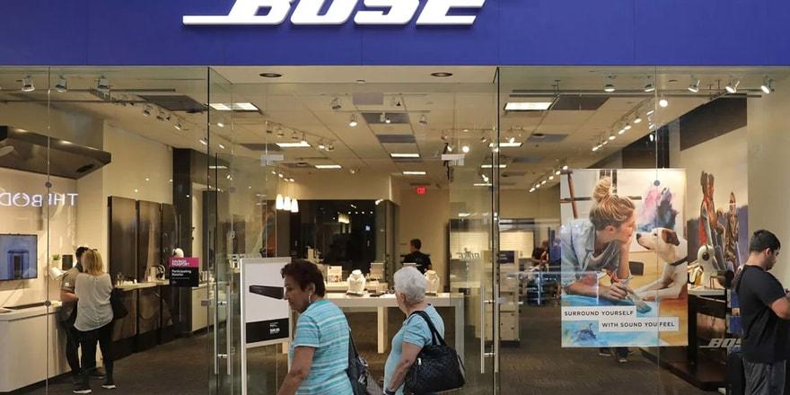 Bose mağazalarını kapatıyor!