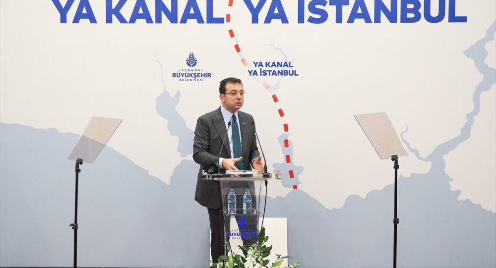 İmamoğlu: Kanal İstanbul yapılaşma başlamadan bireysel ranta dönüştü