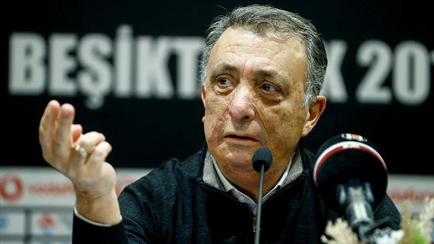 Beşiktaş Başkanı Çebi'den 'yeni teknik direktör' açıklaması