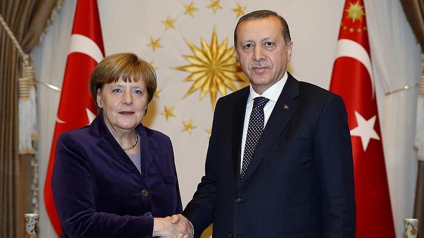 Merkel'den Erdoğan'a taziye mesajı: Acı ve üzüntü duydum