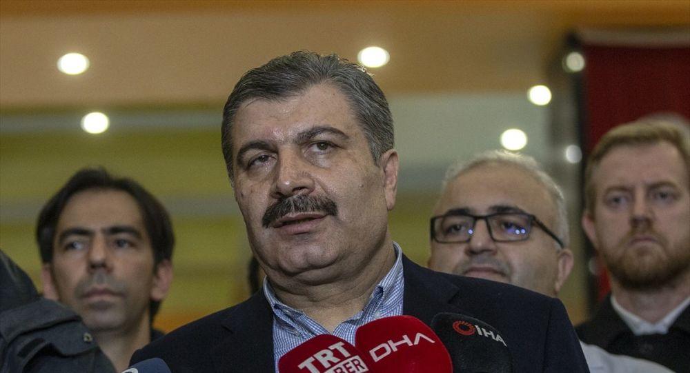 Koca: Şu ana kadar Türkiye'de koronavirüs tanısı konan herhangi bir hastamız olmadı