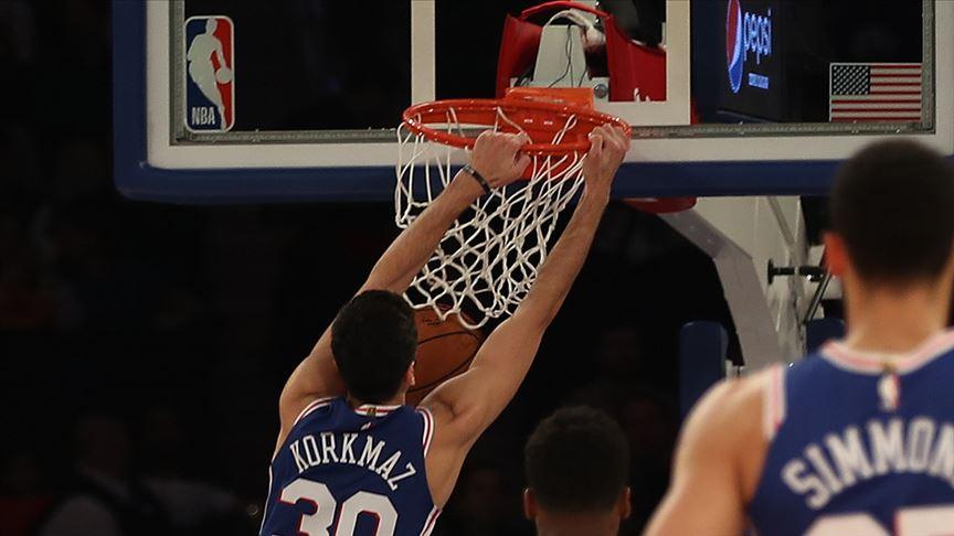NBA'de 76ers Furkan Korkmaz'ın 31 sayı attığı maçta Bulls'u yendi