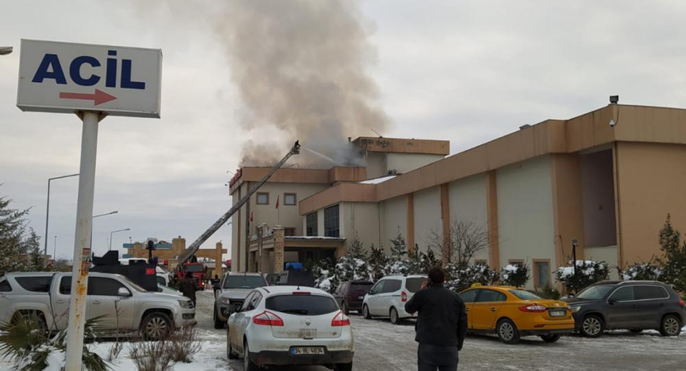 Şırnak'ta devlet hastanesinde yangın