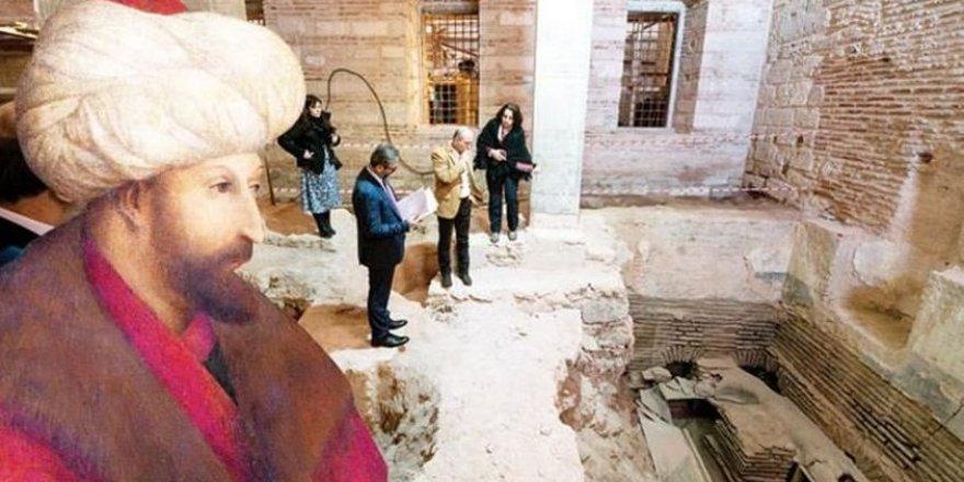 Topkapı Sarayı'nda yeni keşif, Fatih'in külhanı bulundu!